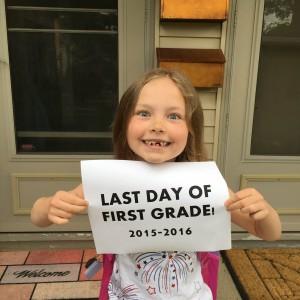 Last Day 1st grade 2016